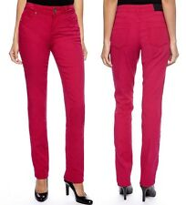 DKNY Jeans Soho Skinny w/Tuxedo Seam – Razzle Pink Colored Denim, 4R - MSRP $89