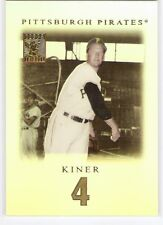 RALPH KINER 2001 TOPPS TRIBUTE SET 3 PITTSBURGH PIRATES HOF