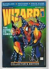 McFarlane WIZARD: THE GUIDE TO COMICS #1 (First Edition) Sept 1991 (Spider-Man)