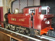 """Live Steam Locomotive 5"""" Simplex-Bien Conçu Récent Nouveau FED. Certs."""