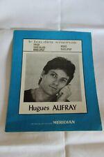 """Hugues Aufray Partition  """" Le bon dieu s'énervait"""""""