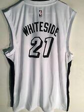 59626672 Adidas NBA Jersey Miami Heat Hassan Whiteside White X-Mas sz M