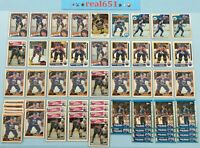 1981~1990 MARK MESSIER Lot x 123 Vintage | O-Pee-Chee Topps | Oilers HOF Batch