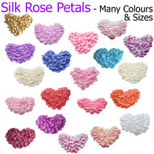 Flower Basket Silk Rose Petals Wedding Scatter Confetti Girl Party Table UK Lot