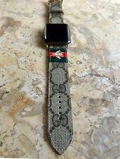 Custom GG bee apple watch band