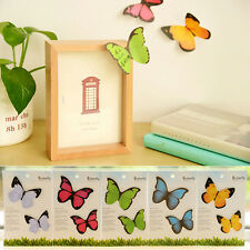 40 Pages Colorful Butterfly Sticker Washi  Bookmark Flag Memo Sticky Note B