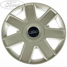 "Genuine Ford Ka Escort Fiesta 13"" Wheel Trim Silver SINGLE 1486336"
