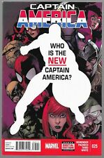 Captain America #25 1st Appearance of Sam Wilson as Captain America VF To NM