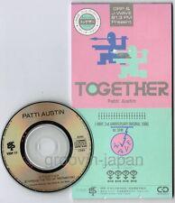 "Promo! PATTI AUSTIN Together JAPAN 3"" CD VIDP-17 J-Wave 2nd Ann.Original Song"