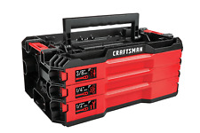Craftsman 3 Drawer Tool Case Tray Top Versastack Empty ~ *Tools Not Included*
