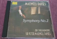 Sir Peter Maxwell Davies - Symphony No.2 - Collins Classics – 14032