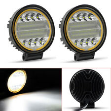2X 48W LED Work Light Fog Lamp SUV ATV Off-Road 4x4 Tractor Flood Lights 12V 24V