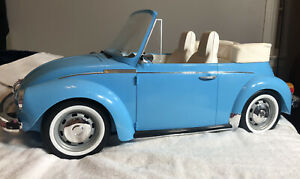 American Girl Julie Volkswagon Beetle Car Only 1974 Blue Retired works tested
