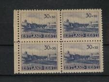 GERMANY-OCCUPATION ESTONIA, WWII, SC. NB3, BLOCK OF 4, MNH