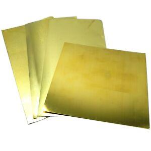 Brass Shim (Sheet) .001 .002 .003 .005  #258 K&S Precision Metals - FZ258