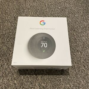 Nest Learning Thermostat - 3rd Generation - Black (T3016US)