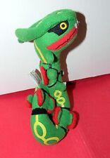 "2005 POKEMON CENTER ~ RAYQUAZA 9"" Legendary PLUSH ~ STUFFED ANIMAL TOY Tush Tag"