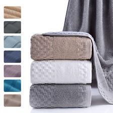 Luxury Large Bath Towel 100% Cotton Sheet Absorbent 600Gsm Bathroom Towels 27x55