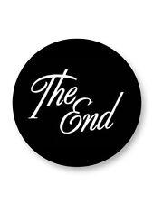 """Pin Button Badge Ø25mm 1"""" The End La Fin Movie Film Cinema"""