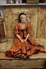 <<<Antik Boudoir Puppe Doll Frankreich Poupée Shabby rar <<<