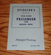 1948 Ford Passenger Car Model 899A Owners Operators Manual 48