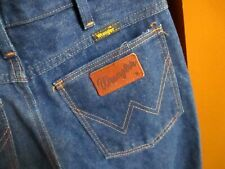NEW NWOT 29x30 True Vtg 80s WRANGLER BOOTCUT 945DEN RAW DENIM Jeans MADE IN USA