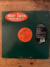 "Mr Len What the F...? Mr Live Matador Company Flow US 12"" 2000"