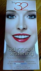 SNO 32 ADVANCED TEETH WHITENER Please note Listing Ends at the end of May