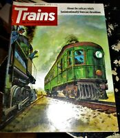 Trains Magazine November 1973