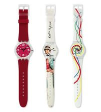 BNIB Beautiful Designer SWATCH Limited Edition Mystery Vintage Set of 2 Watches