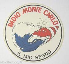 ADESIVO RADIO / Sticker / Autocollant _MONTE CARLO MIO SEGNO ZODIACO ACQUARIO