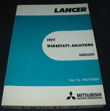 Werkstatthandbuch Mitsubishi Lancer 1.Generation auf Deutsch Stand 1977