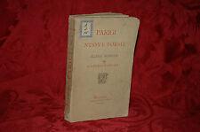 Libro Antico 1881 Parigi - Nuove Poesie e Ellenia Moderna Fernando Fontana Raro