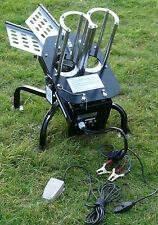 EX-DEMO, DOUBLE ARM AUTOMATIC CLAY PIGEON TRAP,2 ARM TRAP,ELECTRIC MACHINE 12V