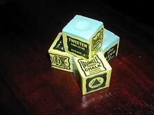 4 x triangolo verde Snooker Gesso/Biliardo/Pool