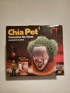 Pennywise Chia Pet The IT Movie Clown Decorative Planter it clown chia pet scary