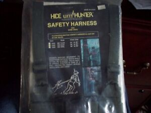 Tree Stand Safety Harness Safe Platform Hunting Deer Buck Sportsman Gear Hunter