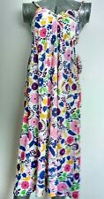 NET-A-PORTER Designer NIEVES LAVI floral dress size 8 100% Silk-NEW WITH TAGS-