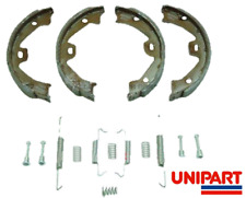 For ROVER 75 REAR HANDBRAKE SHOES & FITTING KIT CLIPS SPRINGS NEW SET