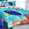 Finding Dory - Nemo & Hank - Single/US Twin Bed Quilt Doona Duvet Cover Set