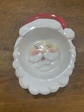 Pottery Barn Kids Christmas Santa Bowl Melamine