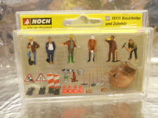 * Noch 15111 Road Maintenance Workers (6) and Accessories Figure Set 1:87 Scale