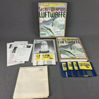 LucasArts Secret Weapons of the Luftwaffe PC IBM w/ P-80 Shooting Star Expansion