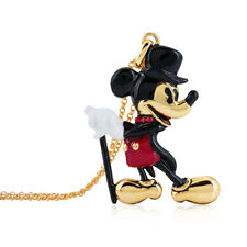Disney Couture Kingdom Mickey Mouse 90 Years G-Plated Showman Necklace