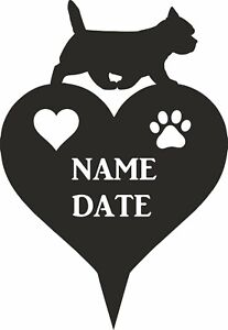 Cairn Terrier memorial dog loving memory heart Paw personalised