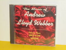 CD - THE MUSIC OF ANDREW LLOYD WEBBER - VOLUME 4 - ASPECTS OF LOVE - VARIATIONS