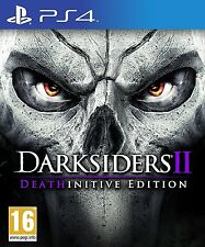 Darksiders 2 Deathinitive Edition For PAL PS4 (New & Sealed)