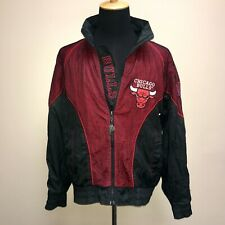 Vintage Chicago Bulls Pro Player Jacket Mens Medium Windbreaker MESH Rare
