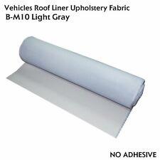 Gray Headliner Sponge Fabric Car Upholstery Shed Sag Repair Replacement 60