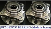Front Wheel Hub &KOYO Bearing Assembly for TOYOTA FJ CRUISER (4WD)2007-2013 PAIR